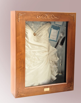 wedding dress shadow box wedding dress preserved in shadow box possibly places to 9253