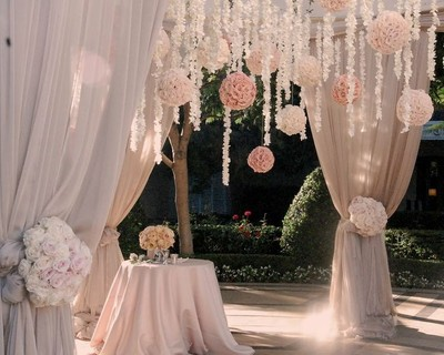 Need advice on what type of material to use to decorate my wedding ...