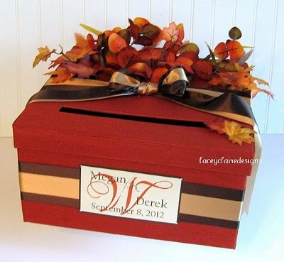 fall wedding card box any ideas – Fall Wedding Card Boxes