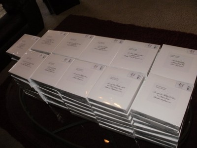 Here Are The Invitations And The Boxes Ready For Mailing! I Canu0027t Wait To  See Yours. I LOVE Invitations!