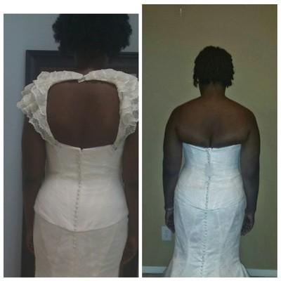 Wedding Dress Corset Back Fat I My Bulges Roadtogoal
