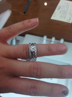 Help on my two wedding bands dilemma Weddings Style and Decor
