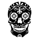 130x130 sq 1447351432537 sugar skull   black and white   square