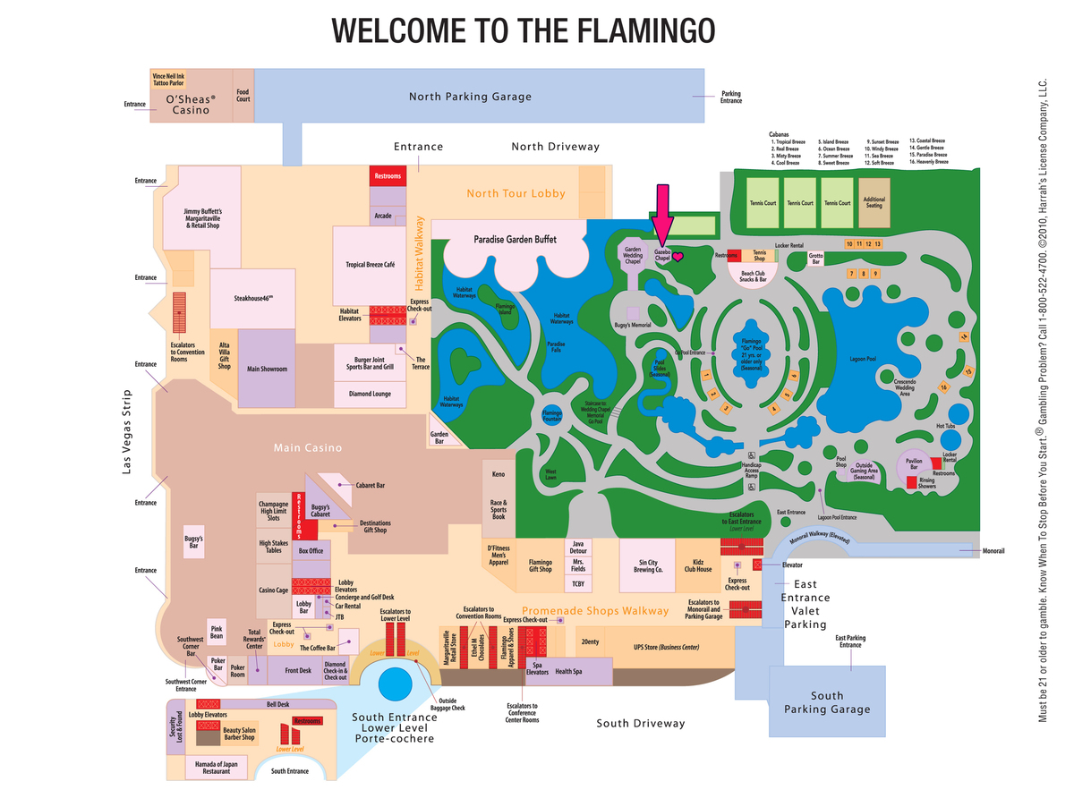 flamingo las vegas map virginia map