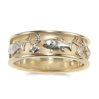 Wedding Bands Mens Wedding Bands Fishing