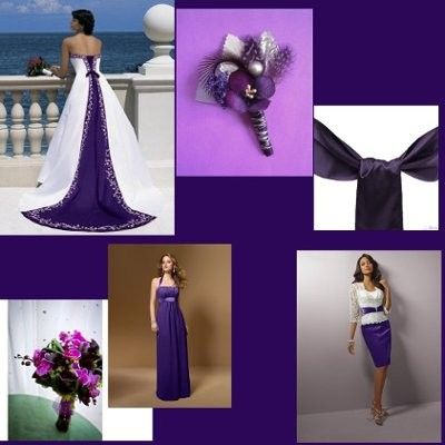 What goes with color purple weddings wedding forums - What color goes with lavender ...