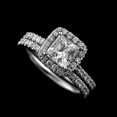 my ring is pic 3 help - Wedding Band For Halo Ring