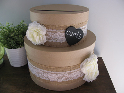 show me yourcard box – Round Wedding Card Box