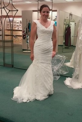 Went dress shopping for the 3rd time stuck between a for 3rd time wedding dresses