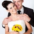 130x130 sq 1432471866463 16375645 bride and groom portrait in studio