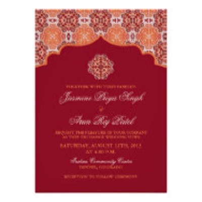 it is not our information but rather the sample on zazzle - Zazzle Wedding Invitations