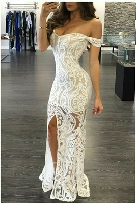 i am looking for some dress inspiration my bridal shower is in july so far considering a long white lace maxi like this