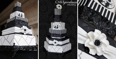 PW Had A Bride With A Nightmare Before Christmas Themed Wedding That Was  One Of My All Time Favorite Themed Weddings. This Was Her Cake: