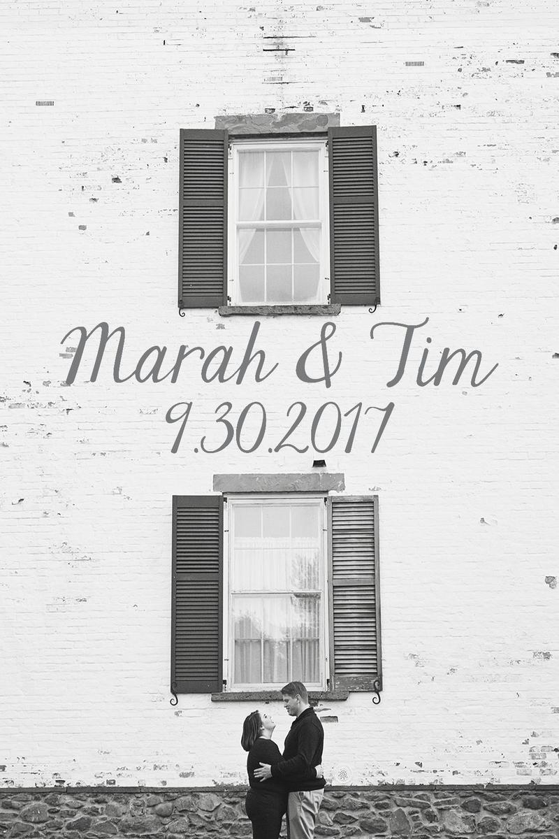 Marah & Tim - Wedding Website - Wedding on Sep 30, 2017