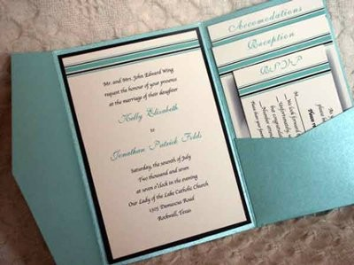 pocket invitationswho did them / who is going to do them, Wedding invitations