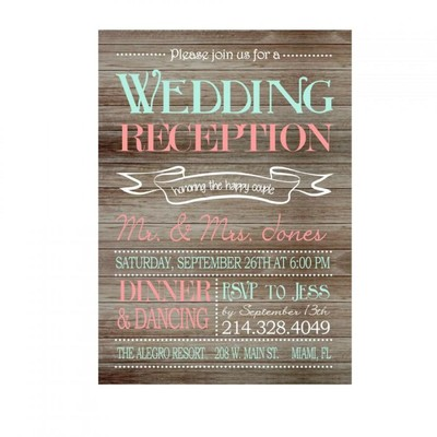 here are a few ideas - Wedding Reception Only Invitations