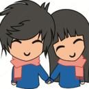 130x130 sq 1464222845937 cute cartoon couple