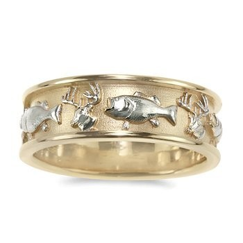 fishing wedding ring fish ring weddings style and decor wedding forums 4088
