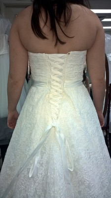 Just Got My Dress And I Love It But All See Is Back Fat Can You Be Honest Tell Me If Looks Bad Should Look At Sleeves Thanks