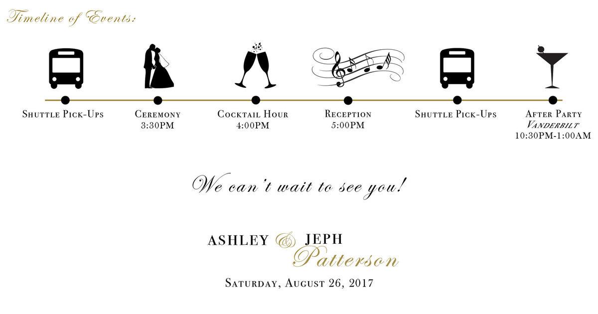 Ashley & Jeph - Wedding Website - Wedding on Aug 26, 2017