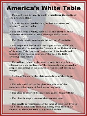 Unusual image in fallen soldier table poem printable