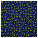 130x130 sq 1489451824 9d43108dc511d9c3 modern gold snowflakes pattern on navy blue fabric re539ca3945
