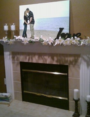 Fireplace Mantel Concept Pics Weddings Style And Decor