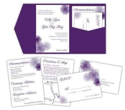 I Want A Pocket Fold Wedding Invitation Weddings Style And Decor Wedding