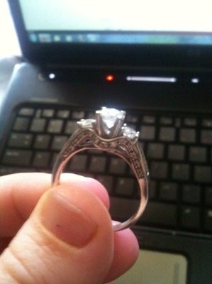 Cheap Feel Free To Post Pictures Of Your Rings Too With Walmart Rings  Engagement