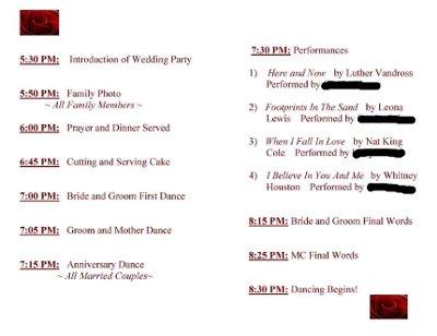 reception order of events weddings planning etiquette and advice wedding forums. Black Bedroom Furniture Sets. Home Design Ideas
