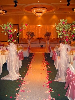 Ceremony Reception In The Same Room Weddings Style And