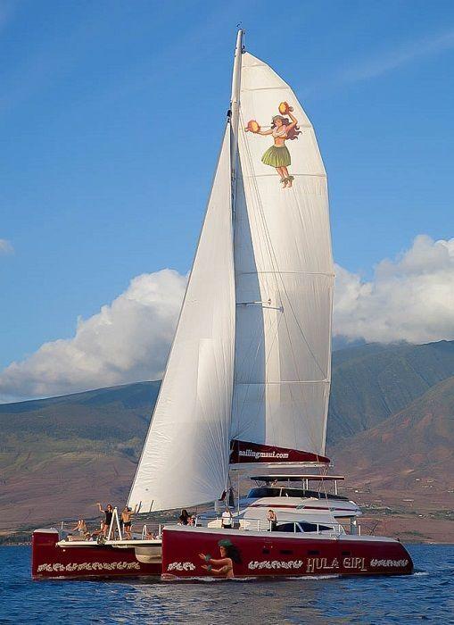 Hula Girl Sunset Cruise