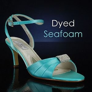 Bridalshoes Blue Wedding Shoes Dyeable 291 Seafoam 6389 You Can Pick Your To Try Them On Then Send Back Get Dyed