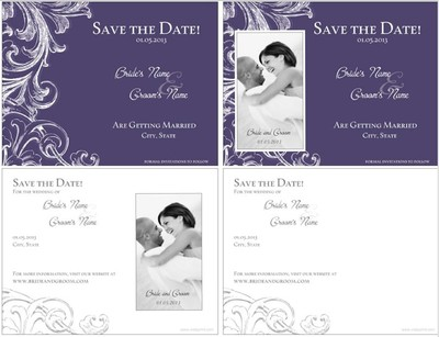 Save The Dates Magnets vs Postcards – Vistaprint Wedding Save the Date Magnets