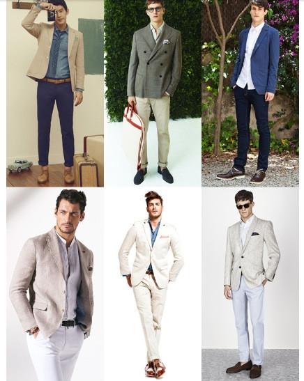 explore male wedding guest attire