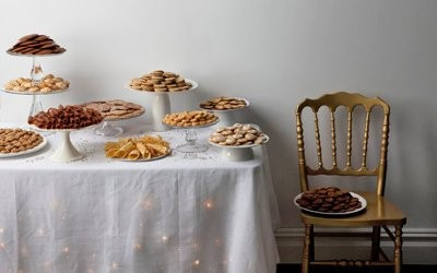 How About An Assorted Cookie Display Or An Italian Pastry Table?