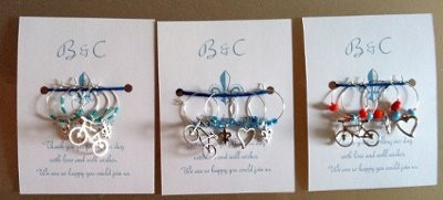 My DIY Favors Wine Glass Charms Weddings Do It Yourself