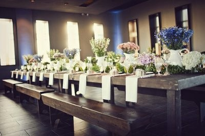 Seeking Rustic Wood Tables Benches To Rent Weddings