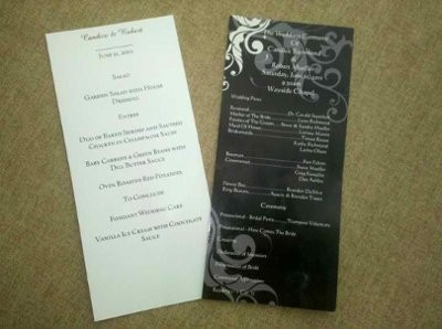 baroque damask invitations announcements