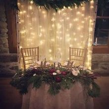 Photo of Flowerthyme in Wakefield, RI - Sweetheart table garlands