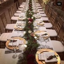 Photo of Flowerthyme in Wakefield, RI - garlands for 14 tables!