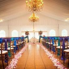 Photo for West Hills Country Club Review - ceremony site in the outdoor ballroom