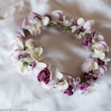 Photo for LOasis Floral Design Review - Flower girl crown.