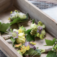 Photo for LOasis Floral Design Review - Boutonnieres for groomsmen.