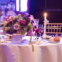 Photo for LOasis Floral Design Review - Sweetheart table.