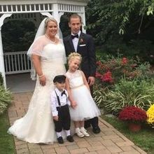 Photo for Springfield Country Club Review - Bride and groom with their daughter and nephew