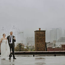 Photo for Room 1520 Review - The rooftop of Room 1520 on a very rainy day