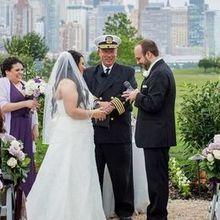 Photo for Nautical Star Weddings Review - Captain Bill supporting us through our vows