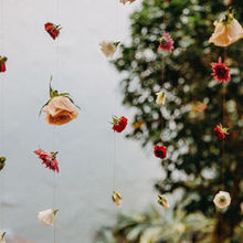 Photo for Wonderland Floral Art Review - Florals hanging from Mandap