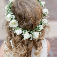 Photo for Wonderland Floral Art Review - The cutest flower crown that was a perfect fit!